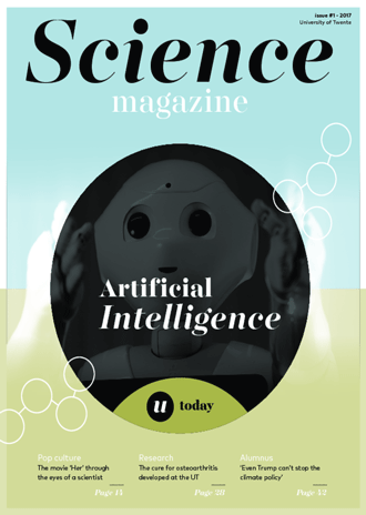 Science Magazine #1 cover