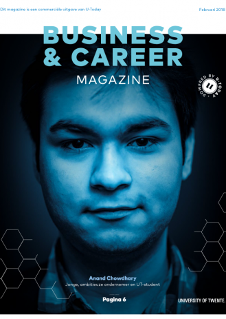 Business & Career Magazine cover