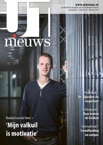 UT Nieuws Magazine Februari 2013 cover