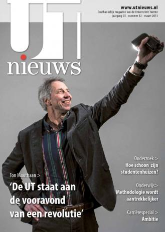 UT Nieuws Magazine Maart 2013 cover