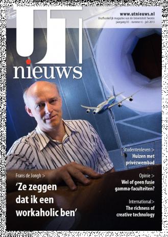 UT Nieuws Magazine juli 2013 cover