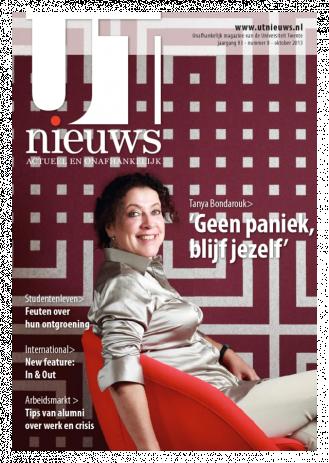 UT Nieuws Magazine Oktober 2013 cover