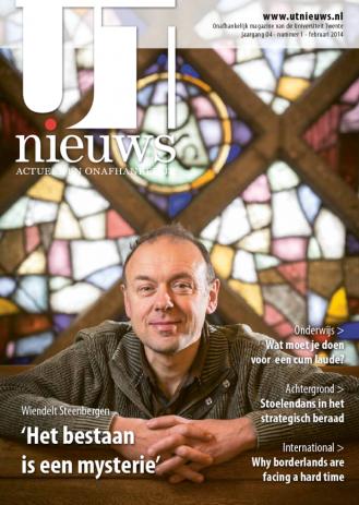 UT Nieuws Magazine februari 2014 cover