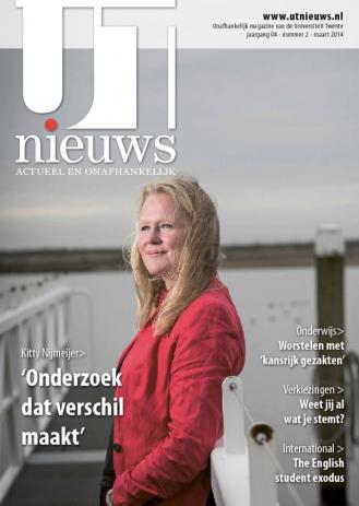 UT Nieuws Magazine maart 2014 cover