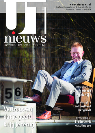 UT Nieuws Magazine april 2014 cover