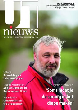 UT Nieuws Magazine mei 2014 cover