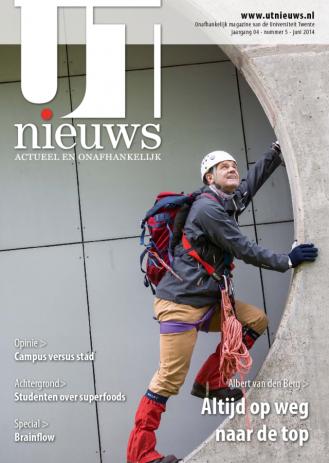 UT Nieuws Magazine juni 2014 cover