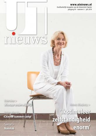 UT Nieuws Magazine juli 2014 cover