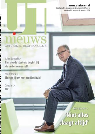 UT Nieuws Magazine oktober 2014 cover