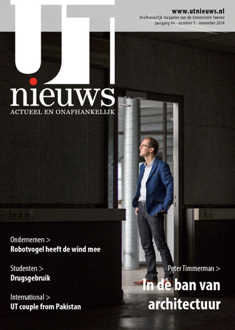 UT Nieuws Magazine november 2014 cover
