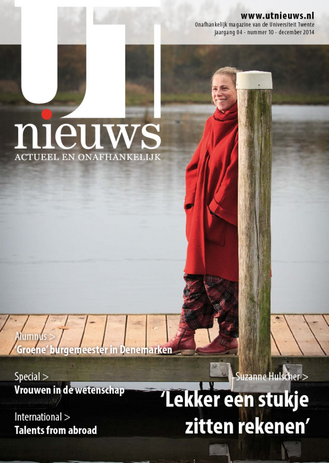 UT Nieuws Magazine december 2014 cover