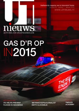 UT Nieuws Magazine februari 2015 cover