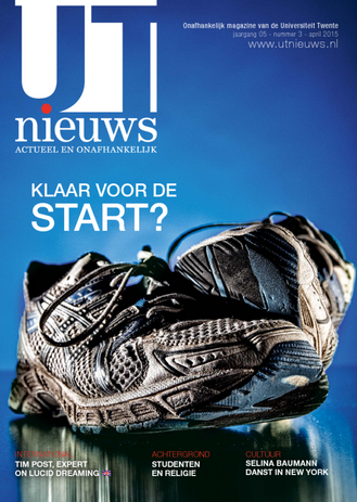 UT Nieuws Magazine april 2015 cover