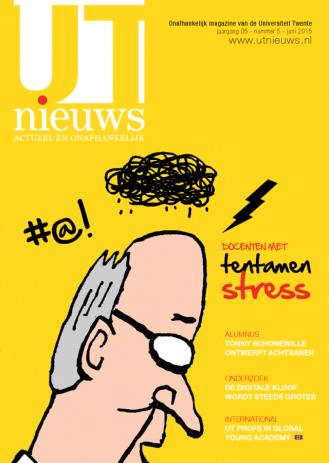 UT Nieuws Magazine juni 2015 cover