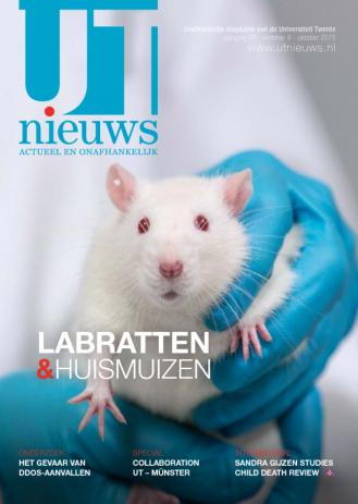 UT Nieuws Magazine oktober 2015 cover