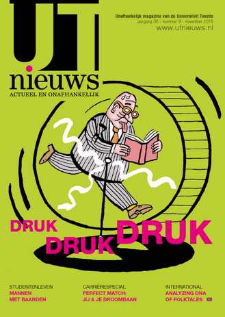 UT Nieuws Magazine november 2015 cover