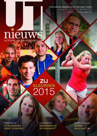 UT Nieuws Magazine december 2015 cover
