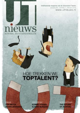 UT Nieuws Magazine Februari 2016 cover