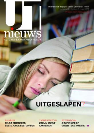 UT Nieuws Magazine Maart 2016 cover