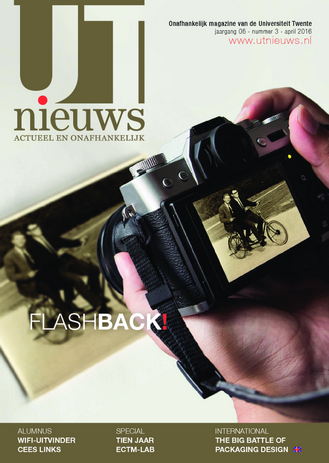UT Nieuws Magazine april 2016 cover