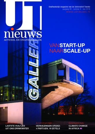 UT Nieuws Magazine mei 2016 cover