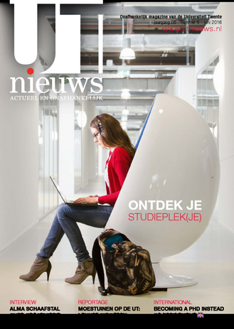 UT Nieuws Magazine juni 2016 cover