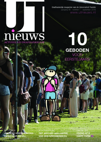 UT Nieuws Magazine september 2016 cover