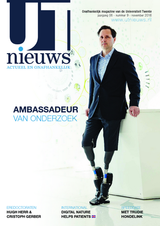 UT Nieuws Magazine november 2016 cover