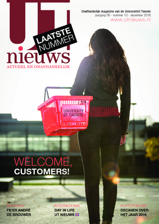 UT Nieuws Magazine december 2016 cover